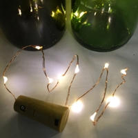 Wine Stopper Lights - Copper or Silver Wire